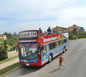 Hop On Hop Off Bus Varadero Cuba